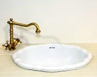 Rustic faucet Stock Image