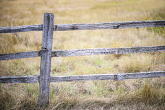 Rustic Fence Stock Image