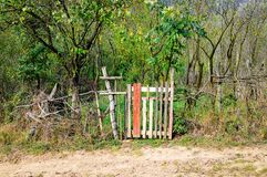 Rustic fence Royalty Free Stock Photos