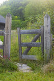 Rustic Fence Gate Royalty Free Stock Images