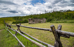 Free Rustic Fence In Wyoming Stock Photography - 61493882