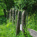 Rustic fence Royalty Free Stock Images