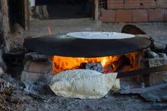 Rustic flatbread. Turkey. Stock Photography
