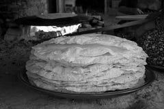 Rustic flatbread. Turkey. Royalty Free Stock Images