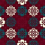 Rustic folk pattern. Seamless background Royalty Free Stock Images