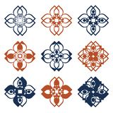 Rustic folk pattern. Vector illustration Royalty Free Stock Photography