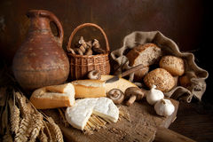 Rustic food Royalty Free Stock Image