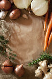 Rustic Food Background Stock Images