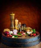 Rustic food stock image
