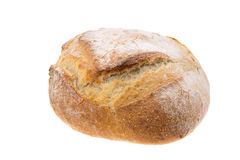 Rustic French boule bread Royalty Free Stock Images