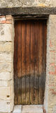 Rustic French Door Stock Photography