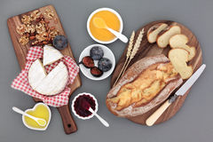 Rustic French Snack Food Royalty Free Stock Image