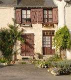 Rustic French Village House Royalty Free Stock Photography