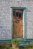 Rustic Front Door Stock Image