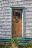 Rustic Front Door Stock Image