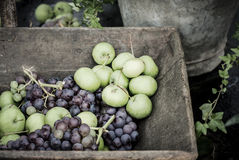 Rustic Fruit Royalty Free Stock Photography
