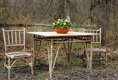 Rustic Furniture Royalty Free Stock Photo