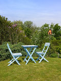 Rustic garden furniture Stock Image