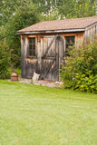 Rustic garden shed Royalty Free Stock Photo