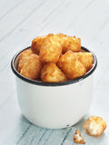 Rustic golden potato tater tots Royalty Free Stock Photos