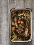 Rustic gravy ingredient Stock Images