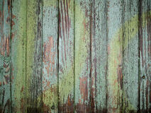 Rustic green wood Royalty Free Stock Photo