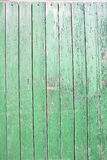 Rustic green wooden wall Royalty Free Stock Image