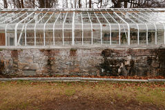Rustic Greenhouse Ruins Royalty Free Stock Photos