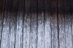 Rustic grey gradient wooden board, with cracks and natural wood pattern. Natural Background royalty free stock photos