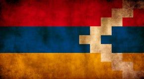 Rustic, Grunge Republic Of Artsakh Flag