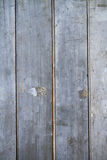 Rustic grungy paling fence Stock Photography