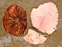 Rustic ham end Stock Photo