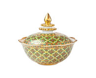 Rustic handmade pot Royalty Free Stock Image