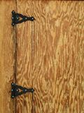 Rustic Hinges Stock Images