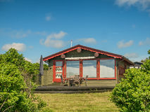 Rustic holiday home in Sjelborg near Esbjerg, Denmark Royalty Free Stock Photos