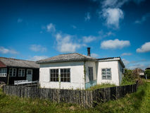 Rustic holiday home in Sjelborg near Esbjerg, Denmark Stock Photo