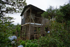 Rustic home in Costa Rica Royalty Free Stock Photo