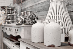 Rustic home decorations Royalty Free Stock Photos