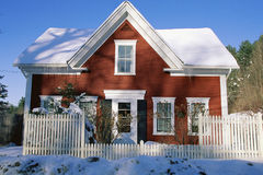 Rustic house Stock Images