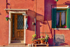 A rustic house in Burano Royalty Free Stock Photo