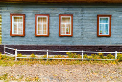 Rustic house facade Stock Photography