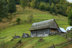 Rustic House on a Hill Stock Photography