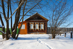 Rustic house Stock Photography