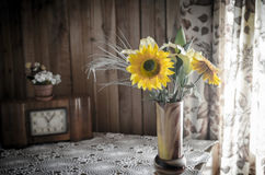 Rustic interior still life Royalty Free Stock Photography