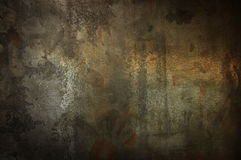 Rustic iron sheet. royalty free stock images