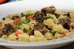 Rustic Italian Dinner stock photos