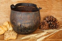 Rustic items Stock Images
