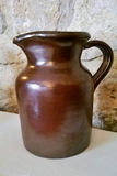 Rustic jug Royalty Free Stock Image