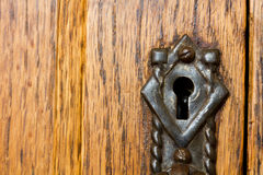 Rustic Keyhole Royalty Free Stock Photo