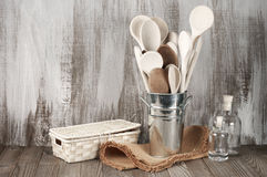 Rustic kitchen accessory Stock Photography